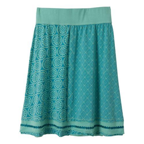 Womens Prana Lisette Fitness Skirts - Capri Blue L