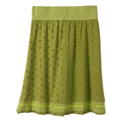 Womens Prana Lisette Fitness Skirts - Grass XL