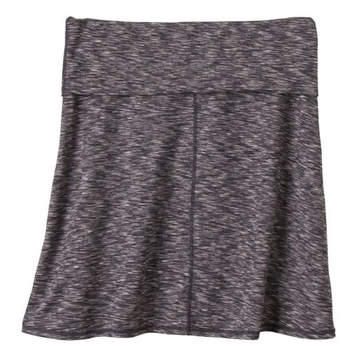 Womens Prana Leanne Fitness Skirts - Coal XL