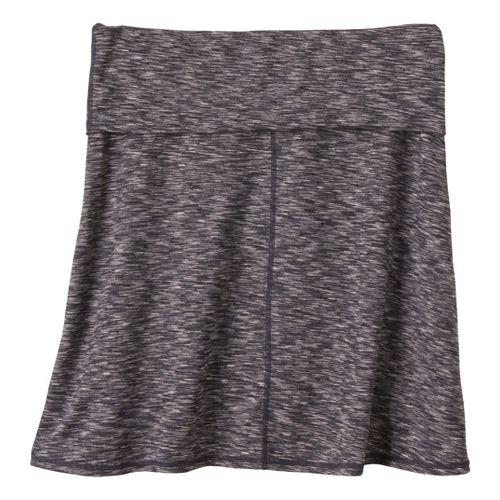 Womens Prana Leanne Fitness Skirts - Coal XS