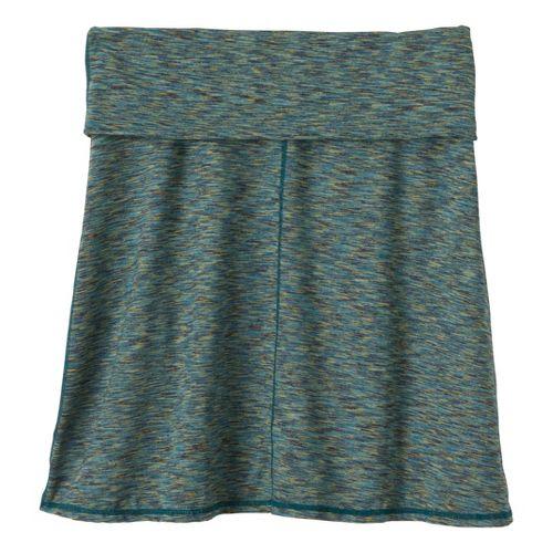 Womens Prana Leanne Fitness Skirts - Teal XS
