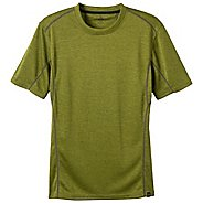 Mens Prana Talon Crew Short Sleeve Technical Tops