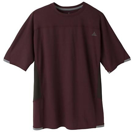 Mens Prana Vertigo Crew Short Sleeve Technical Tops