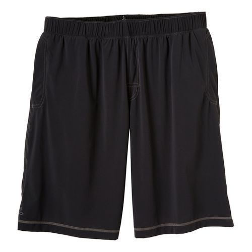 Mens Prana Transit Unlined Shorts - Black XXL
