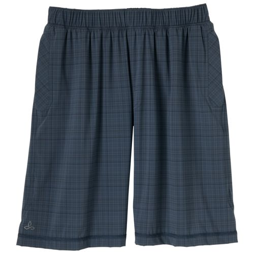 Mens Prana Transit Unlined Shorts - Midnight S
