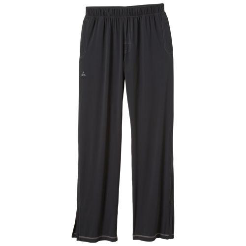 Mens Prana Transit Full Length Pants - Black L