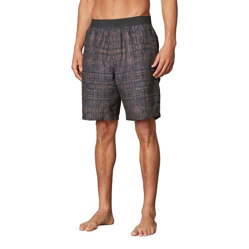 Mens prAna Mojo Unlined Shorts - Grey XL