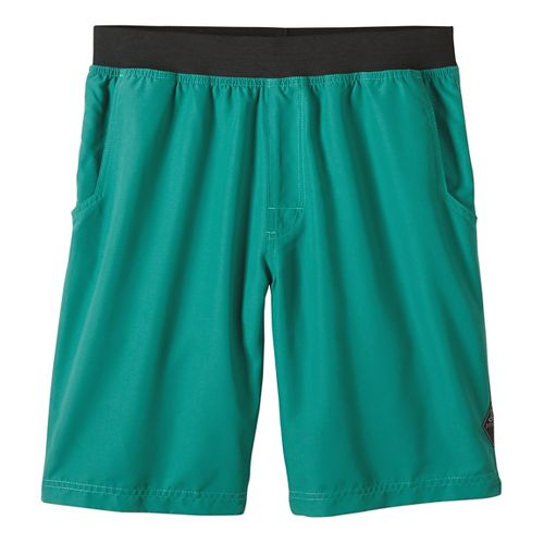 Mens prAna Mojo Unlined Shorts - Dusty Pine M