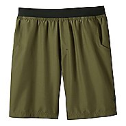 Mens prAna Mojo Unlined Shorts - Cargo Green XXL
