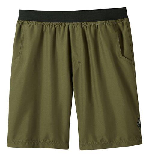 Mens prAna Mojo Unlined Shorts - Cargo Green M