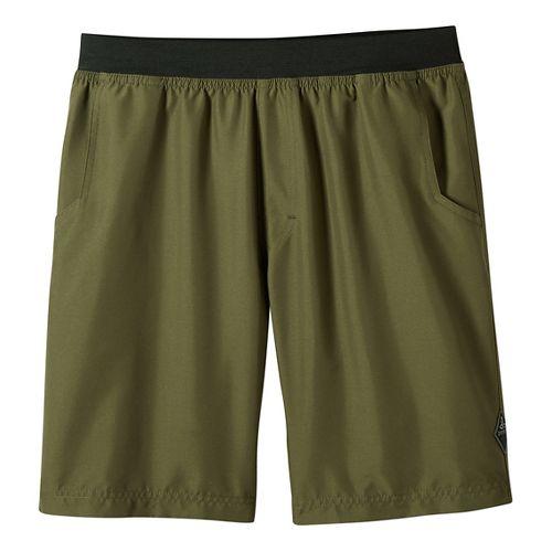Mens prAna Mojo Unlined Shorts - Cargo Green XXL