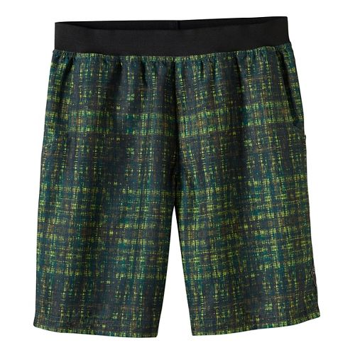Mens prAna Mojo Unlined Shorts - Green M
