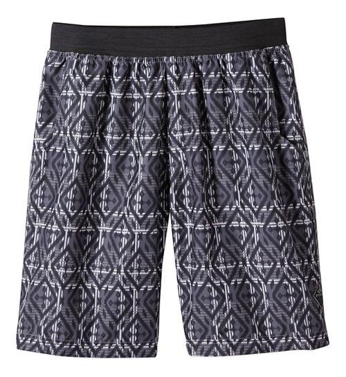 Mens prAna Mojo Unlined Shorts - Mixology Gravel XS