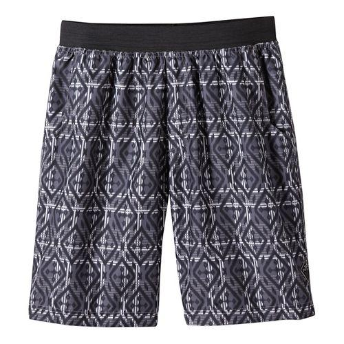 Mens prAna Mojo Unlined Shorts - Mixology Gravel XL