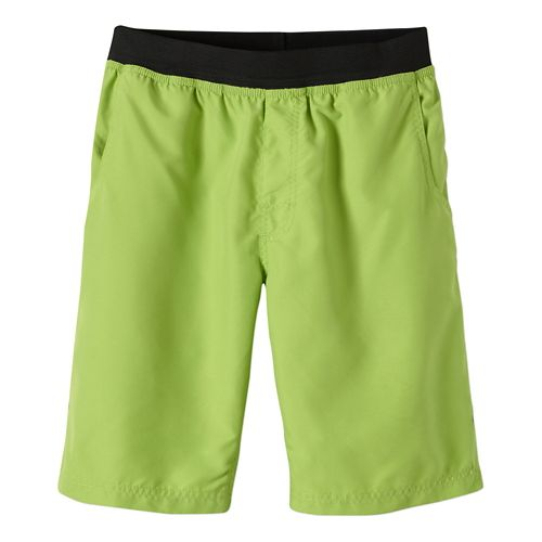 Mens Prana Mojo Unlined Shorts - Macaw Green XS