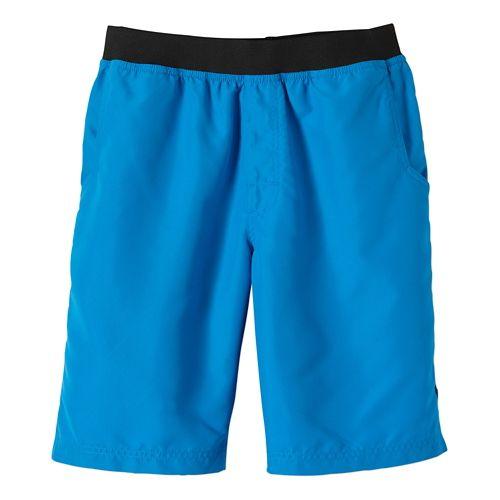 Mens Prana Mojo Unlined Shorts - Danube Blue XXL