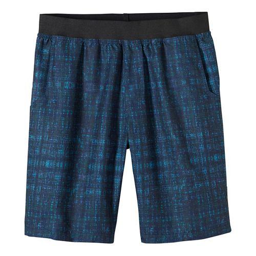 Mens prAna Mojo Unlined Shorts - Blue S