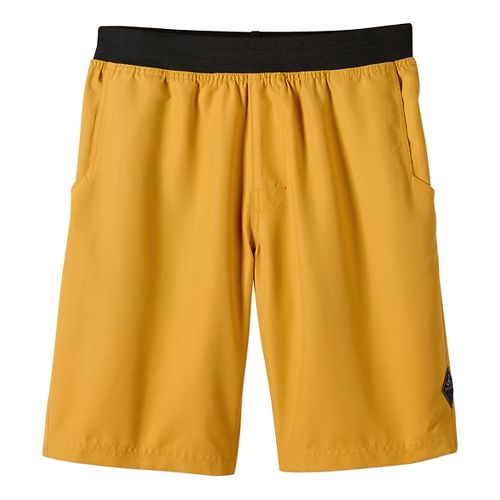 Mens prAna Mojo Unlined Shorts - Marigold L