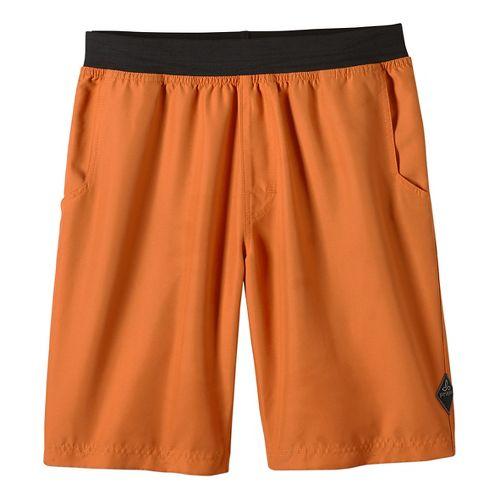 Mens prAna Mojo Unlined Shorts - Cayenne M