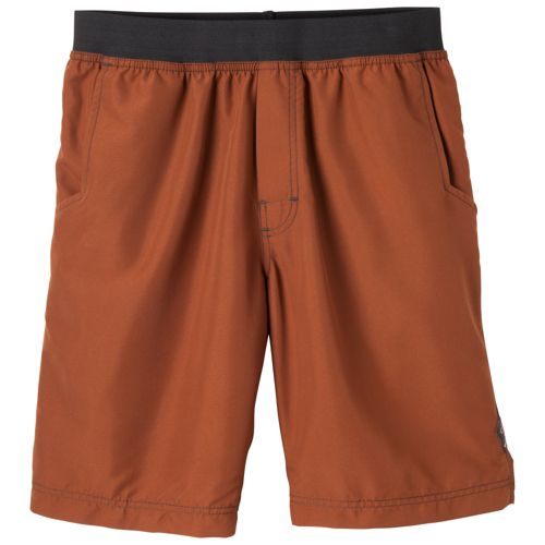 Mens Prana Mojo Unlined Shorts - Auburn XL