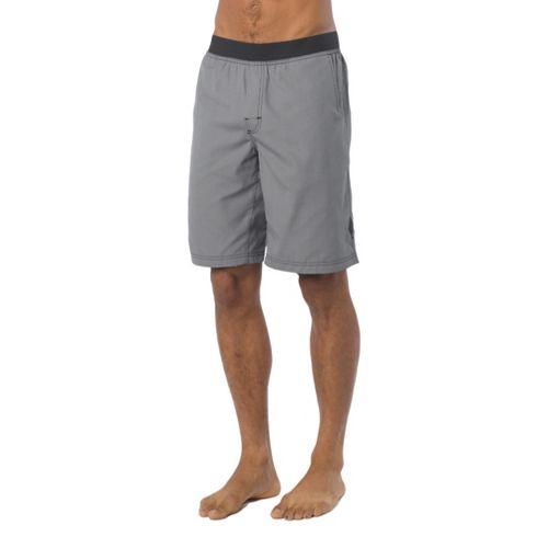 Mens Prana Mojo Unlined Shorts - Grey Plaid S