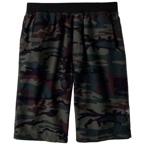Mens Prana Mojo Unlined Shorts - Khaki Camo XL