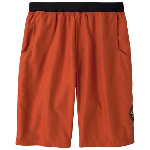 Mens Prana Mojo Unlined Shorts - Rust XXL