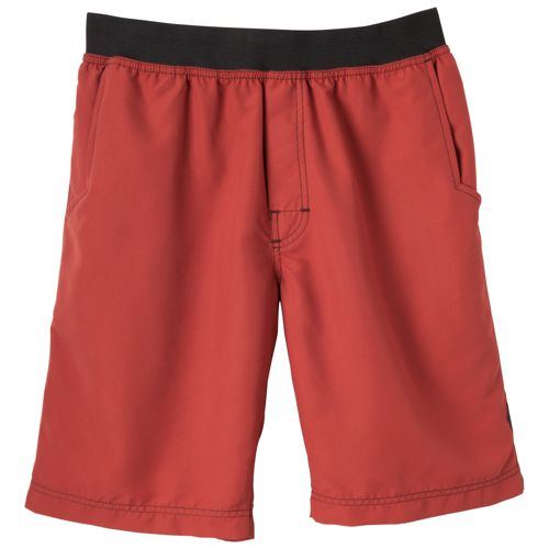 Mens Prana Mojo Unlined Shorts - Tomato XL