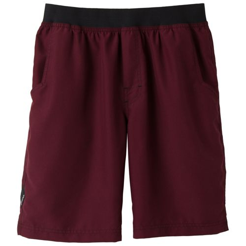 Mens Prana Mojo Unlined Shorts - Wine XXL