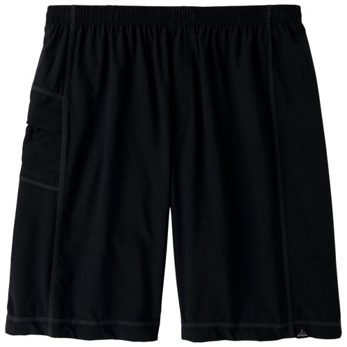 Mens Prana Flex Unlined Shorts - Black XL