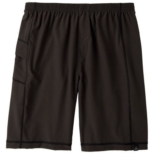 Mens Prana Flex Unlined Shorts - Charcoal L