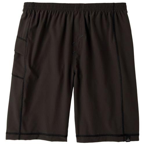 Mens Prana Flex Unlined Shorts - Charcoal M