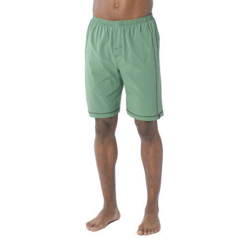 Mens Prana Flex Unlined Shorts - Deep Jade XL