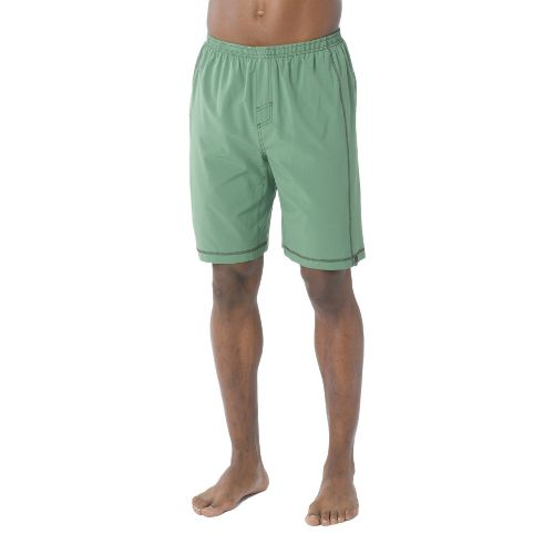 Mens Prana Flex Unlined Shorts - Deep Jade XS