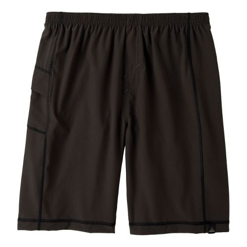 Mens Prana Flex Unlined Shorts - Gravel XL