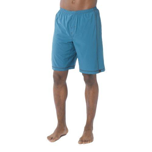 Mens Prana Flex Unlined Shorts - Ink Blue M