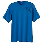 Mens Prana Impressions Tee Short Sleeve Technical Tops
