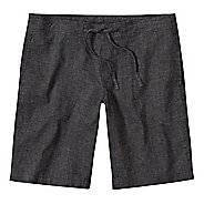 Mens prAna Sutra Unlined Shorts - Black Herringbone S