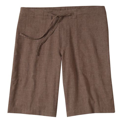Mens prAna Sutra Unlined Shorts - Brown Herringbone L
