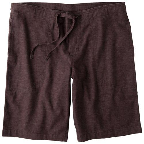 Mens Prana Sutra Unlined Shorts - Espresso L