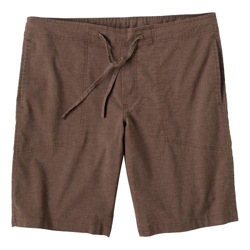 Mens Prana Sutra Unlined Shorts - Mud L