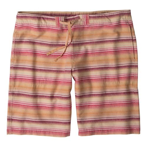 Mens Prana Sutra Unlined Shorts - Rich Cocoa XL