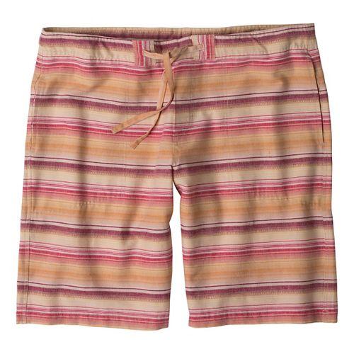 Mens Prana Sutra Unlined Shorts - Rich Cocoa XS