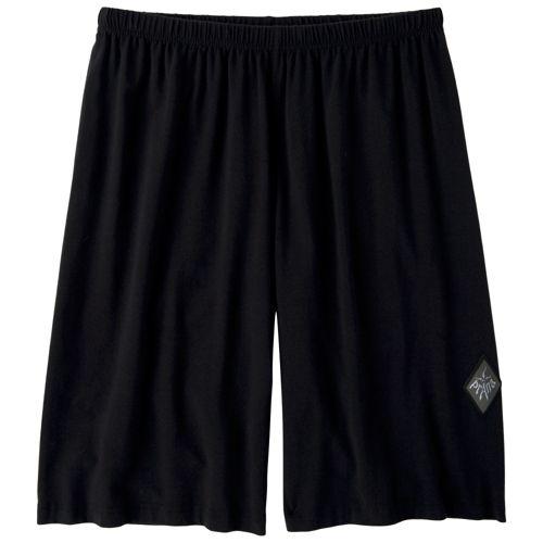 Mens Prana Momentum Unlined Shorts - Black XL