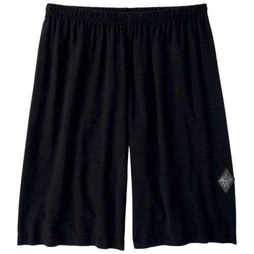 Mens Prana Momentum Unlined Shorts - Black XS