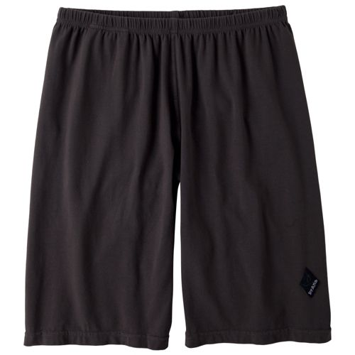 Mens Prana Momentum Unlined Shorts - Charcoal S