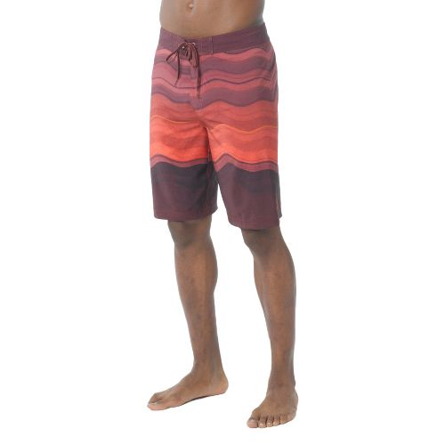 Mens Prana Sediment Unlined Shorts - Raisin 28