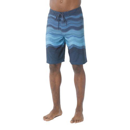Mens Prana Sediment Unlined Shorts - Sapphire 32