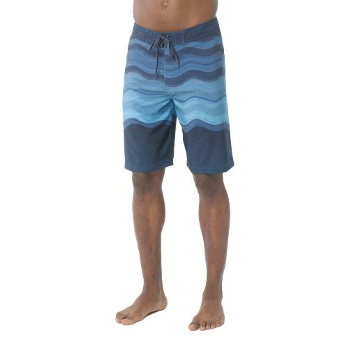 Mens Prana Sediment Unlined Shorts - Sapphire 33