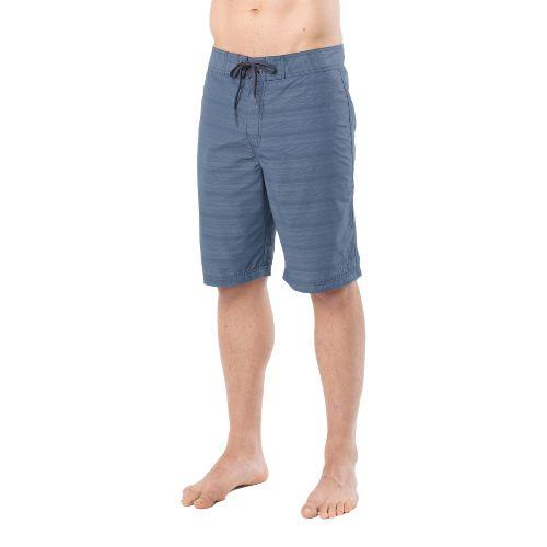Mens Prana El Porto Unlined Shorts - Dusk Blue 34